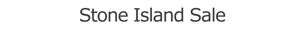 Stone Island Sale