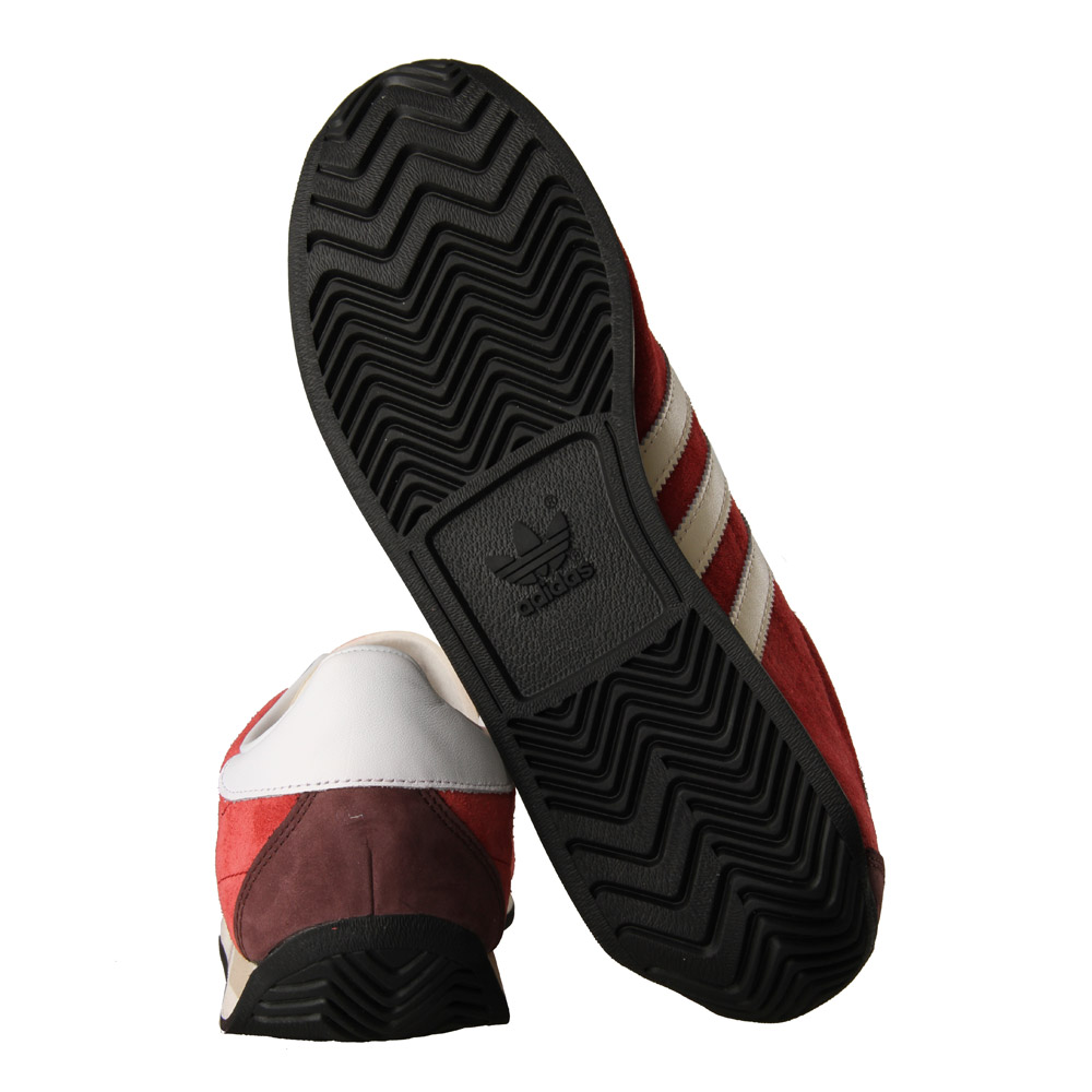 sneakers for cheap 04a6d dd299 adidas Country OG Trainers  Rust Red  White B24758  Aphrodit