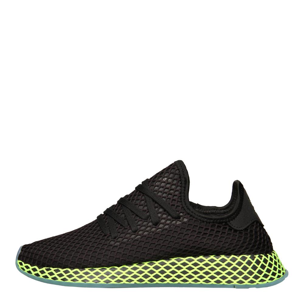 size 40 77a1d bc424 adidas Originals Deerupt Runner  B41755 Black  Neon  Aphrodi