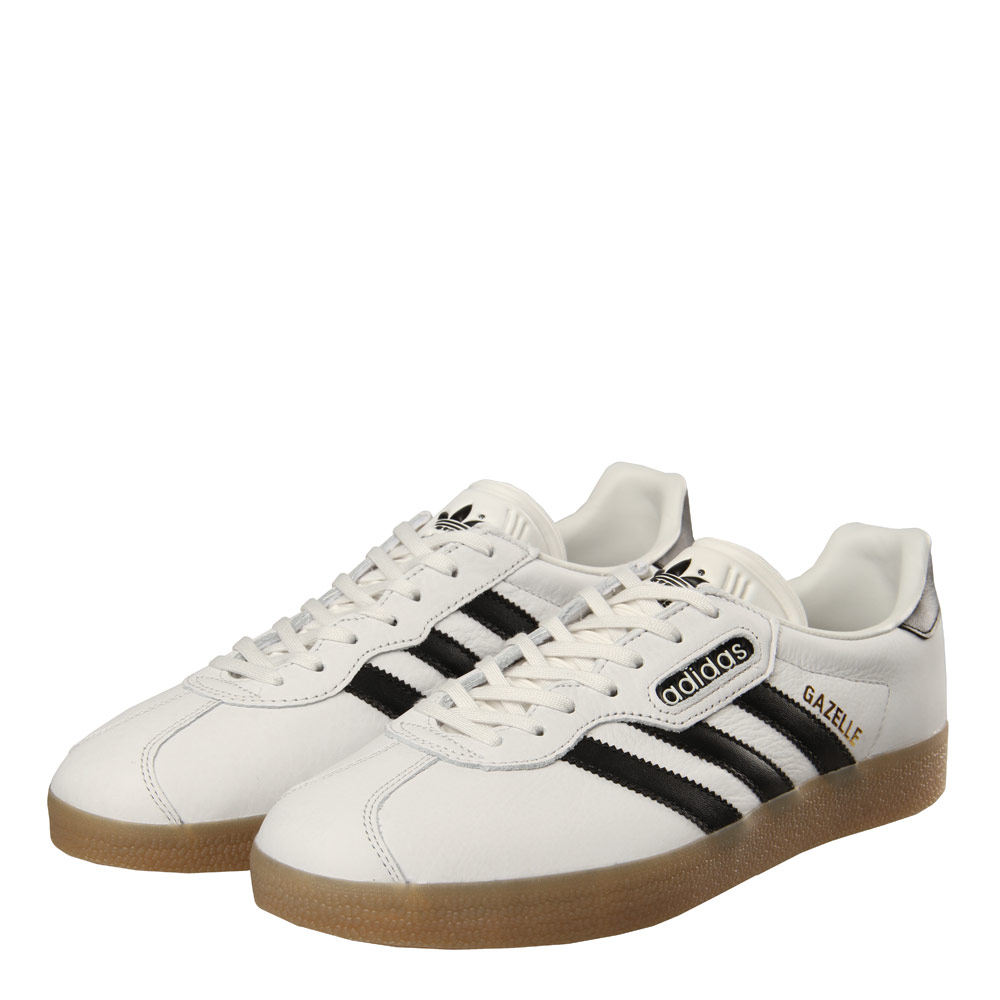 competitive price dca42 8b99d adidas Gazelle Super - Vintage White   Black