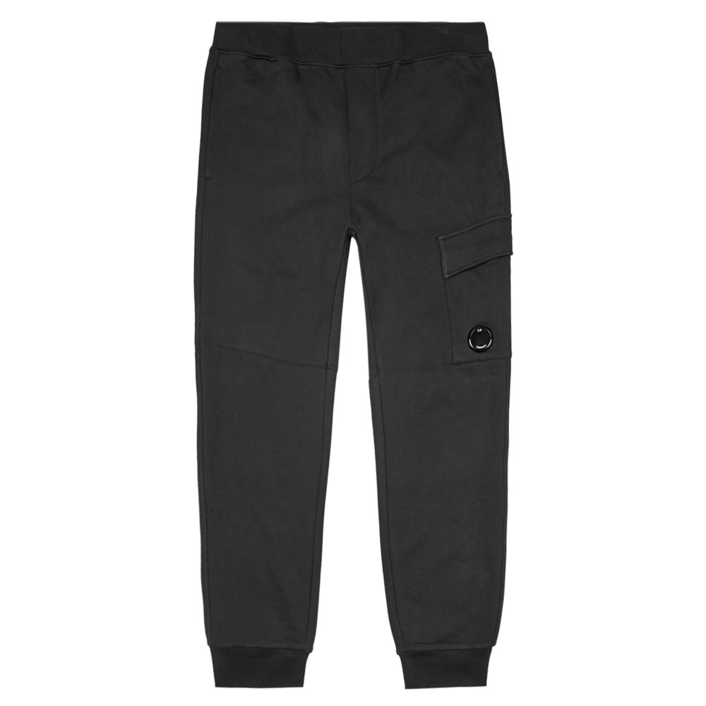 Sweat Cargo Pant - Black