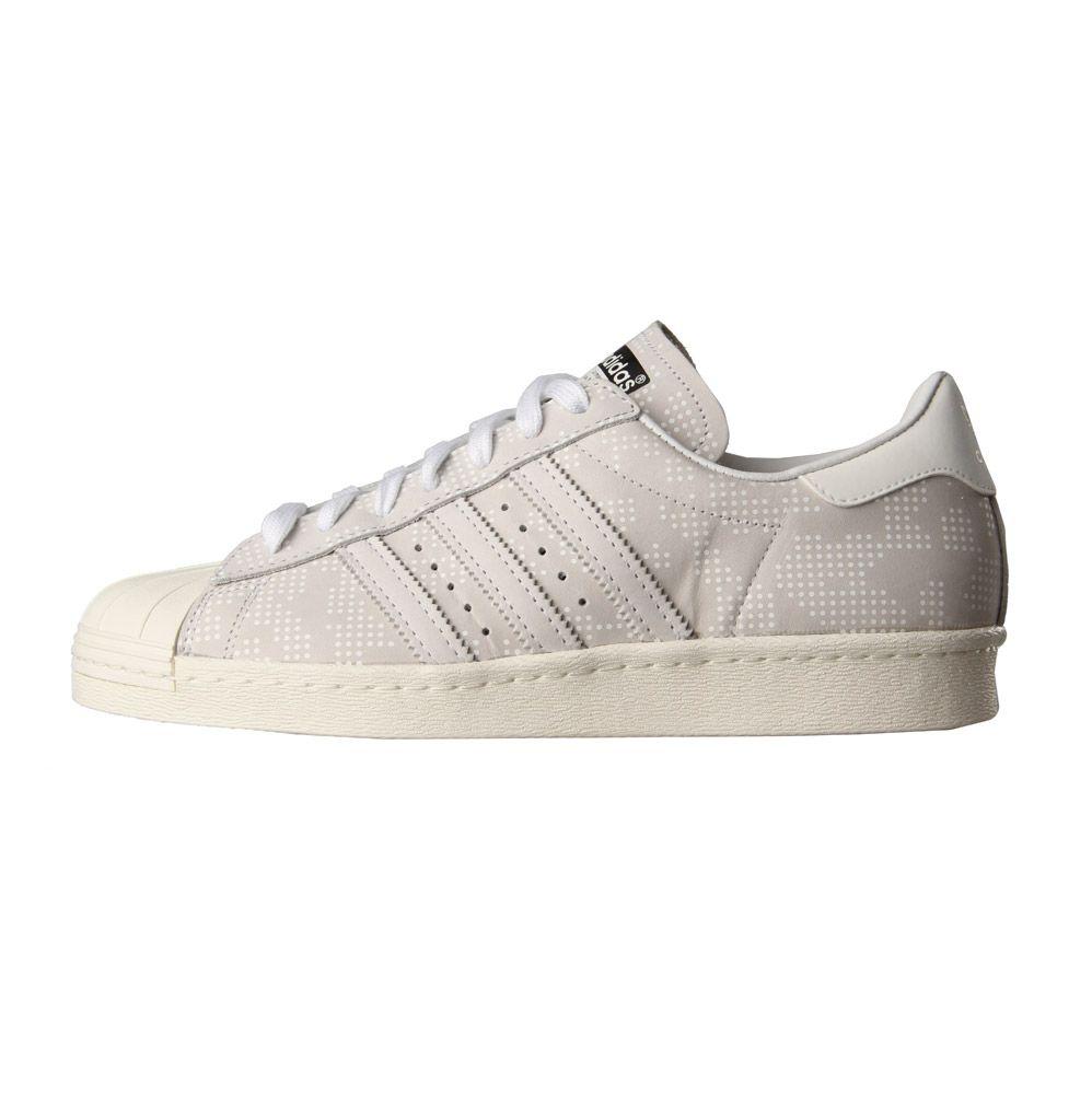 quality design 0bd37 9ad6a adidas Originals White Superstar 80's
