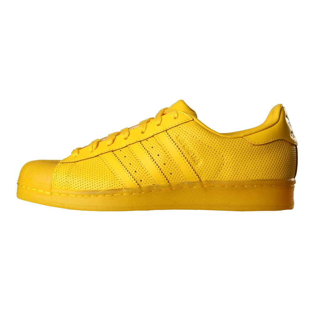 adidas Superstar | Adicolor Trainers S80328 Yellow | Aphrodite