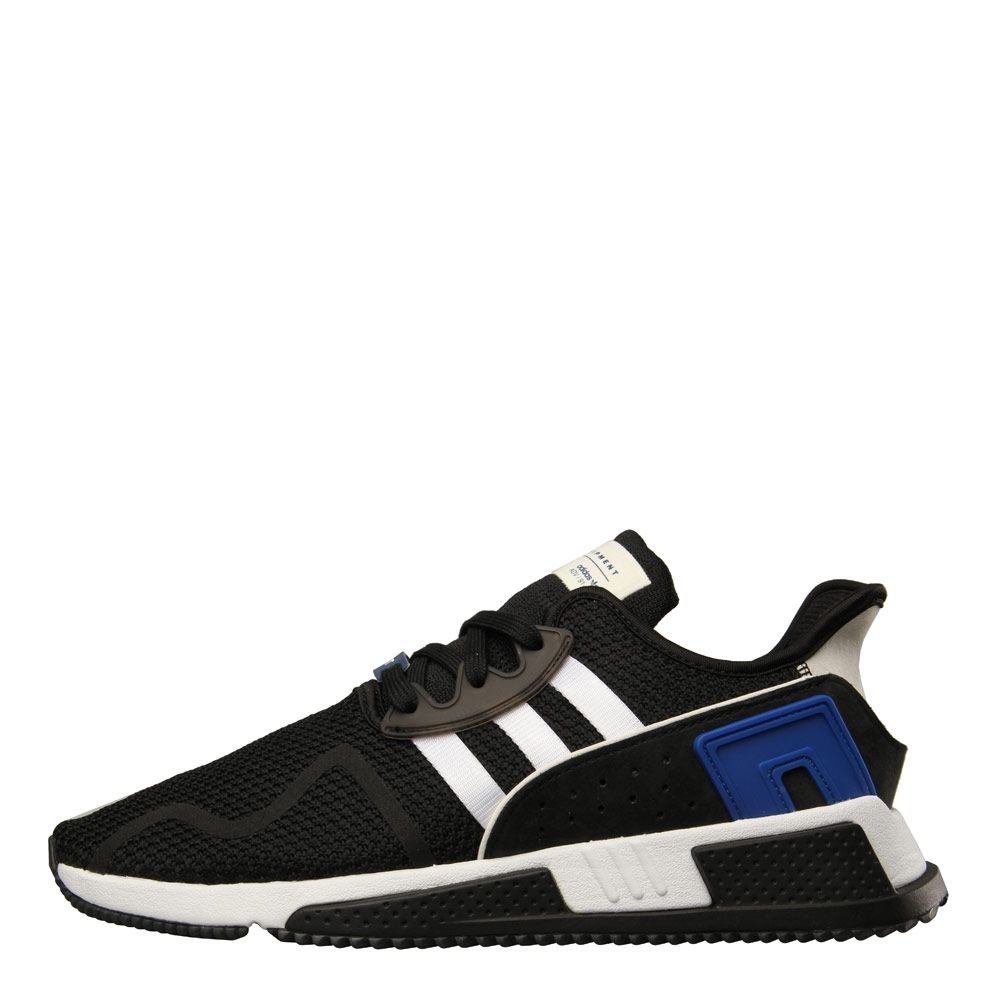 online store 34b61 ca877 adidas EQT Cushion ADV Trainers | Black, white & blue CQ2374 ...