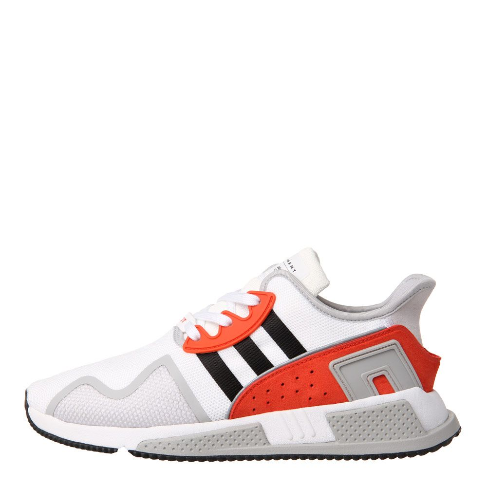 new product 833b5 df4e7 EQT Cushion ADV Trainers - White / Red / Black