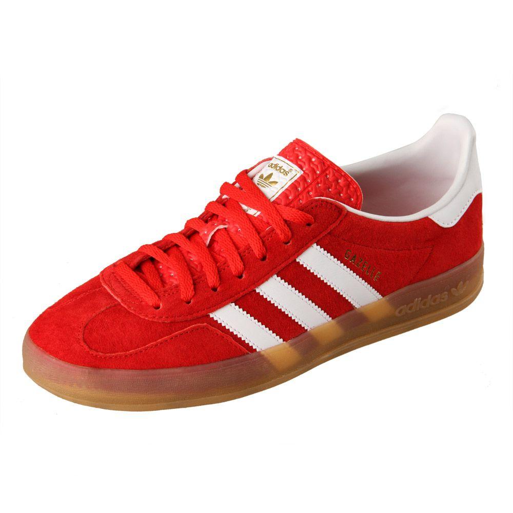 adidas Originals Gazelle Indoor Trainers   Red   Aphrodite