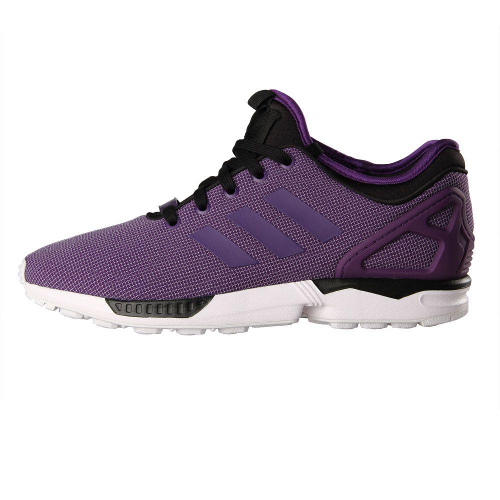 promo code 35840 84f83 adidas ZX Flux NPS Trainers - Purple