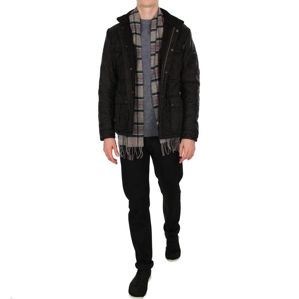 color brilliancy huge sale latest style of 2019 Barbour Jacket | Ariel Polarquilt MQU0365BK91 Black ...