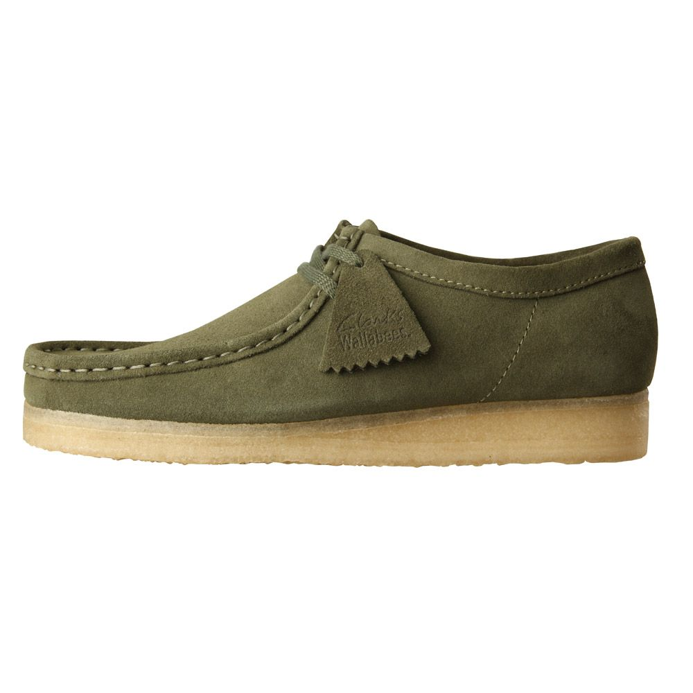 shop utterly stylish thoughts on Clarks Wallabees | Leaf Green 261145047 G | Aphrodite1994