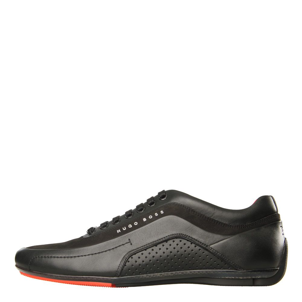 on feet at free shipping exclusive range Hugo Boss Trainers | HB Racing 50307934 Black | Aphrodite1994