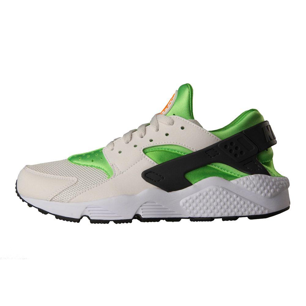 premium selection 1de58 5fb70 Nike Trainers | Air Huarache 318429304 Green / Orange ...