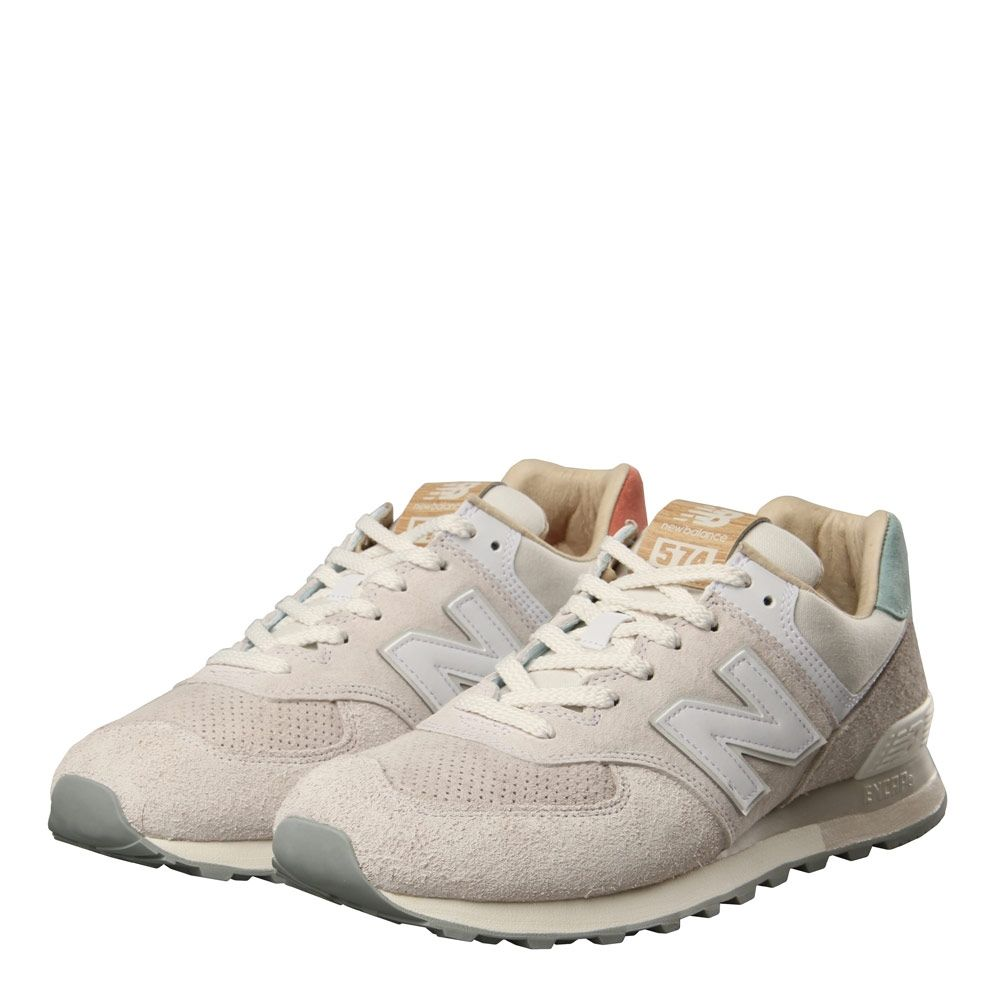 cheap for discount 17890 921f8 New Balance 574 Trainers in Sea Salt ML574OR | at Aphrodite 1994