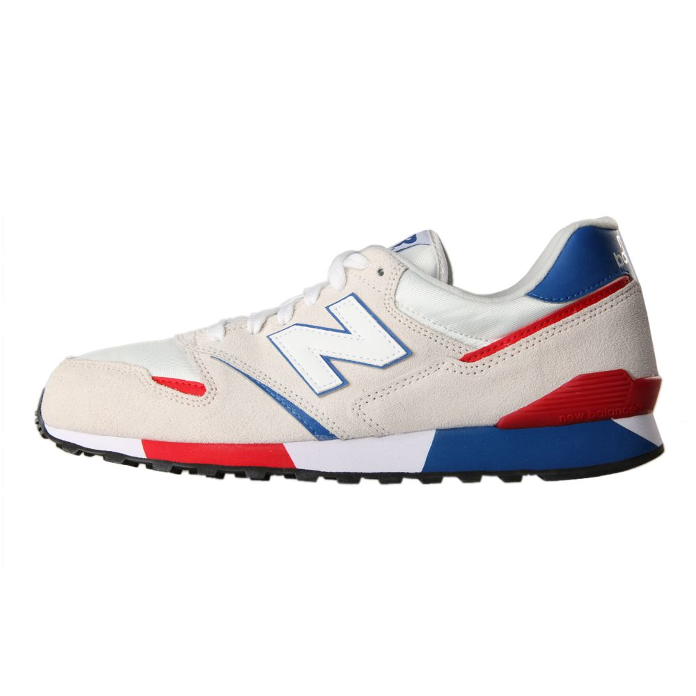 online retailer 392f4 90a60 New Balance White U446 Trainers at Aphrodite Clothing UK