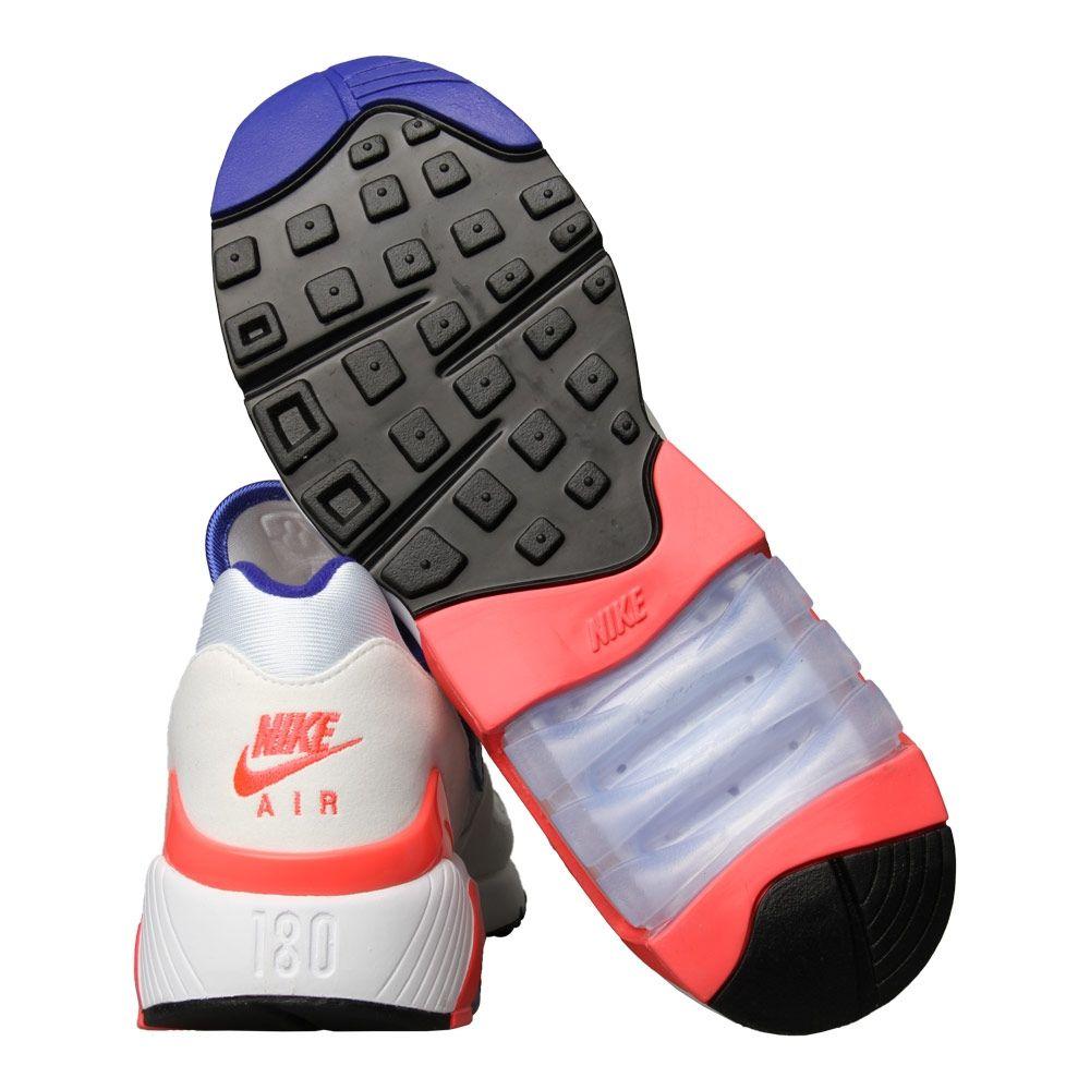 Nike Air Max 180 WhiteUltramarine Solar Red 615287 100
