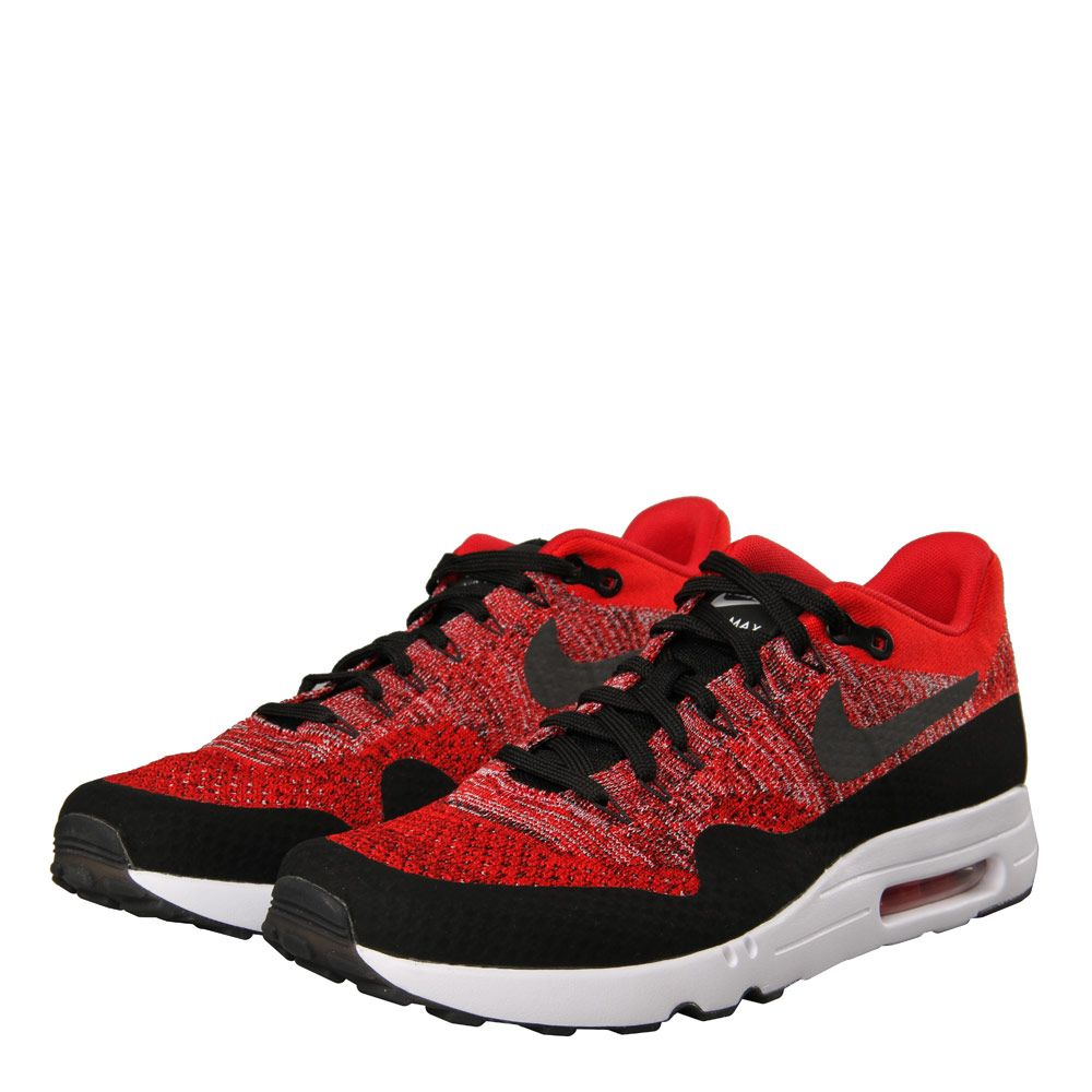 Amazing Nike Air Max 1 Ultra 2.0 Flyknit University Red