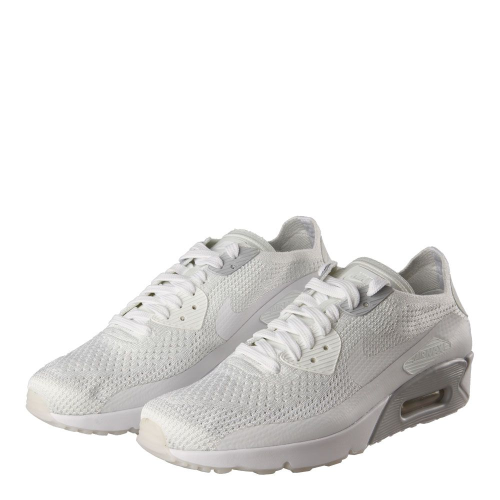 outlet store 80a01 38088 Nike Air Max 90 Ultra Flyknit | 875943-101 White/Pure ...