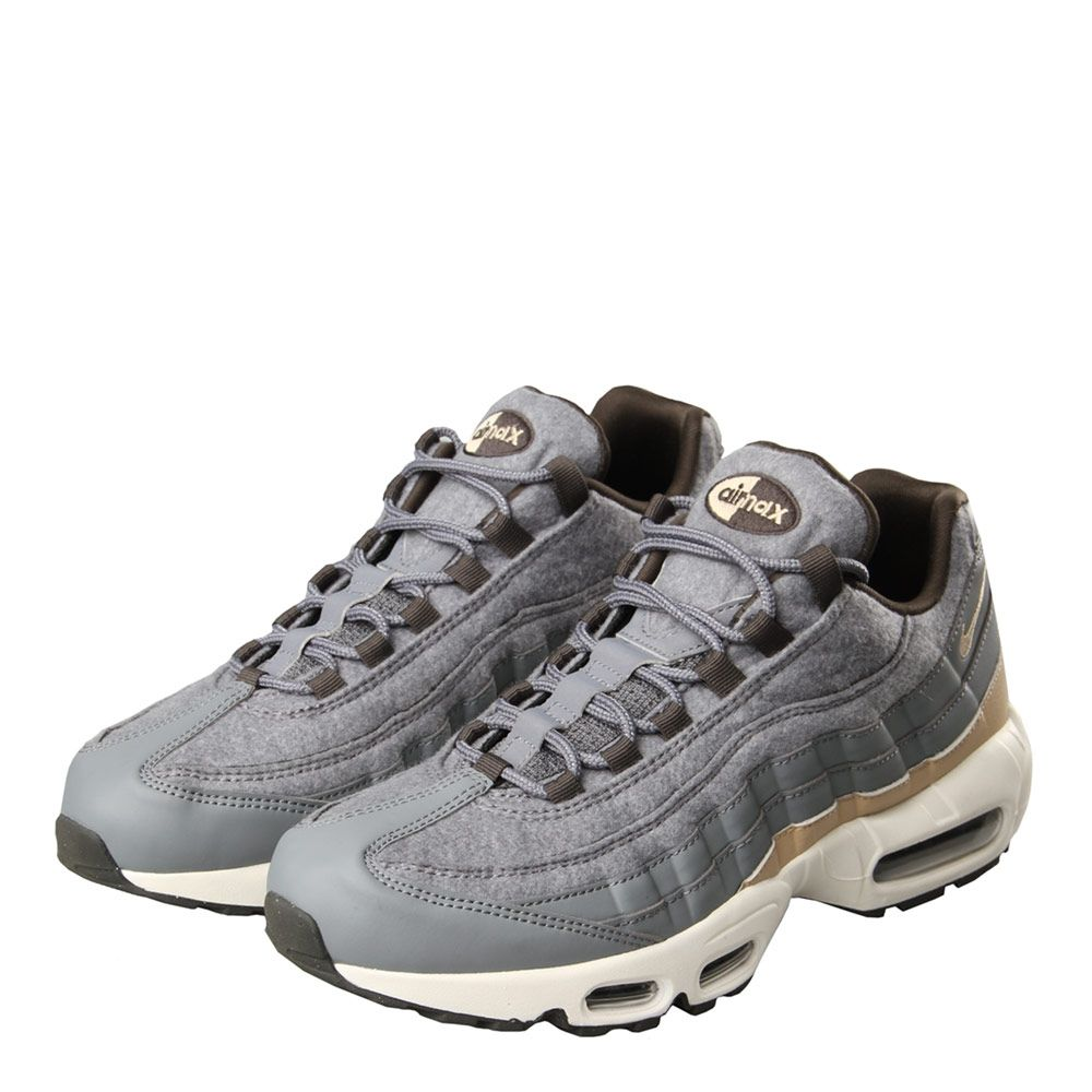 huge selection of ef7b6 9a043 Nike Air Max 95 Premium Trainers | Cool Grey | 538416-009 ...