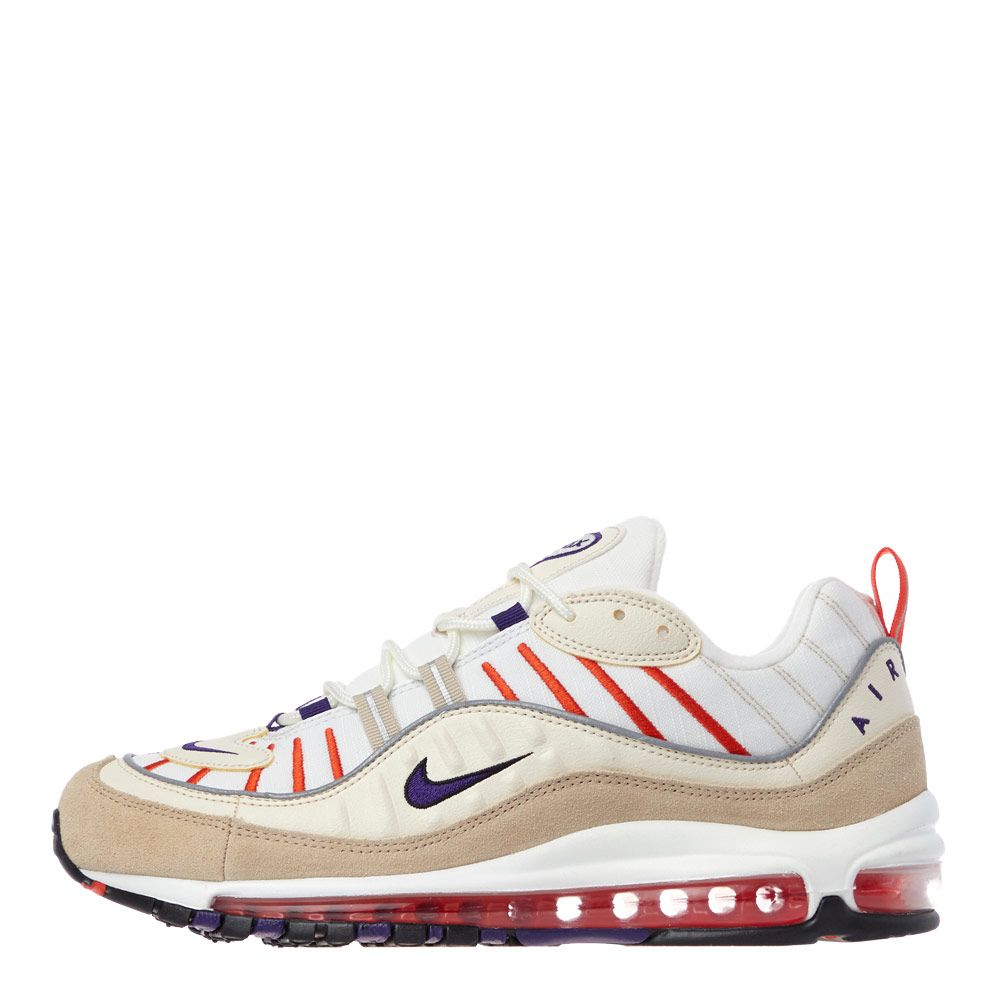 new arrival c92cb 85e5f Air Max 98 Trainers - Sail / Court Purple / Cream