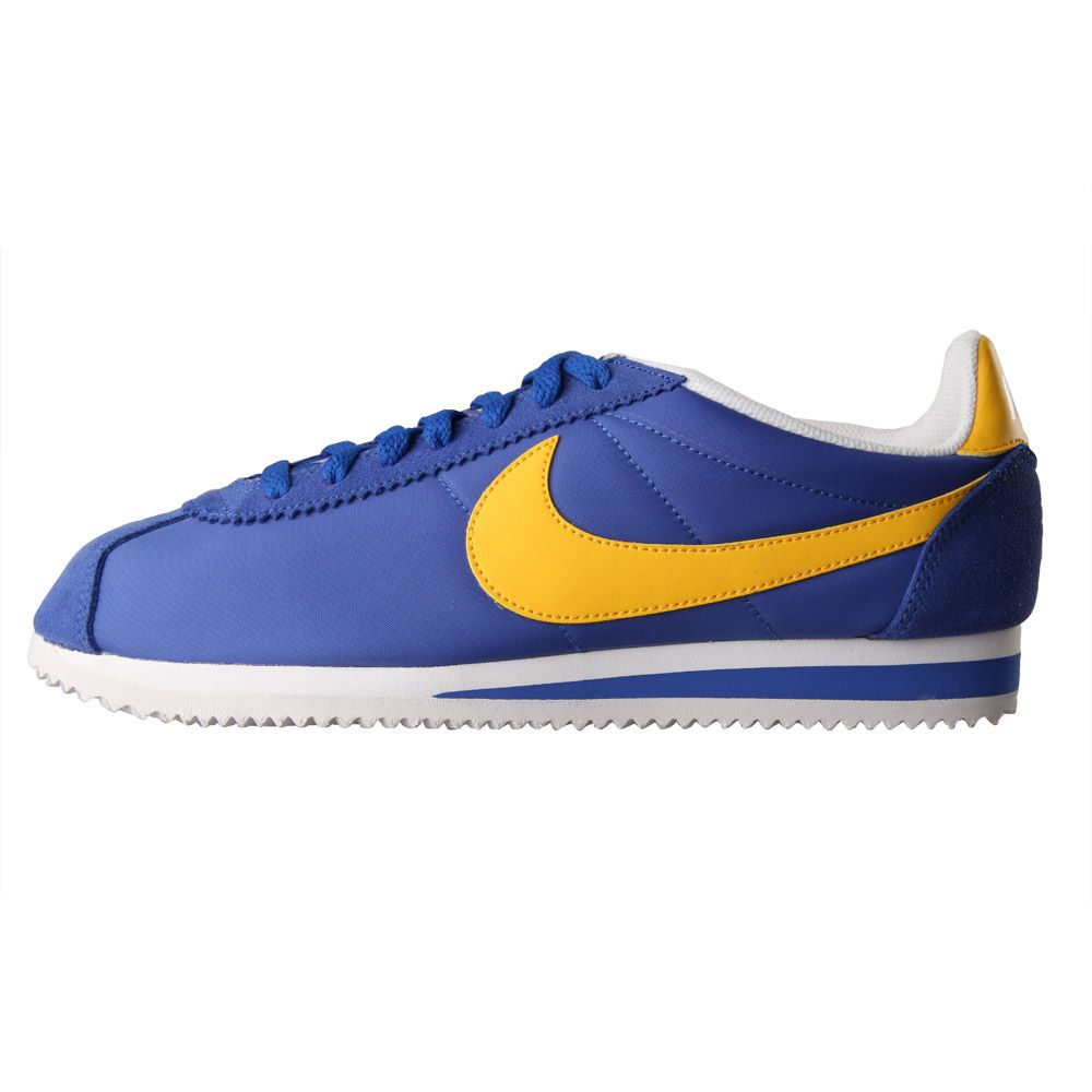 best cheap f40bb 7e15d Nike Cortez Classic in Blue / Yellow | Aphrodite1994 Online UK