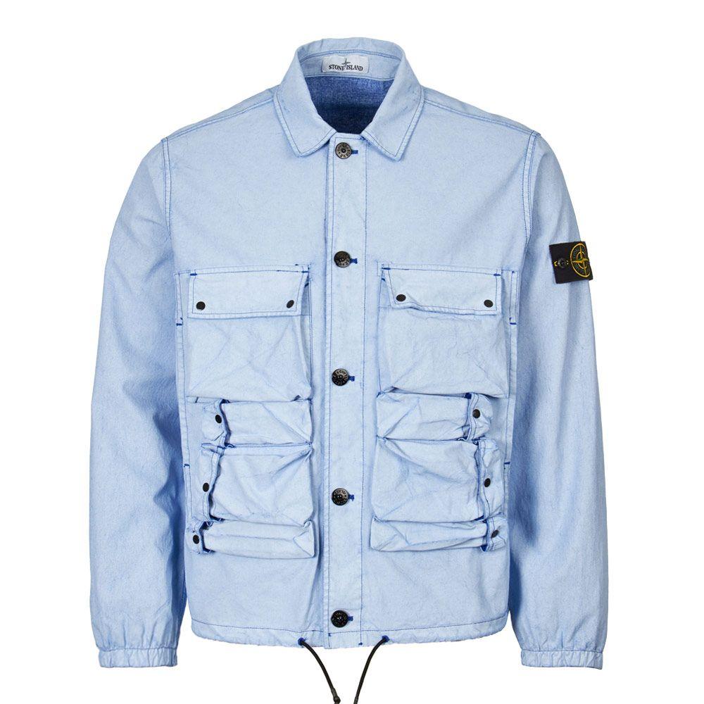huge discount f7aad 17ec2 Jacket Tela Placcata - Blue