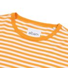 Simple Stripe T-Shirt - Beeswax