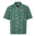 Albam Short Sleeve Shirt   ALM511487219 063 Green