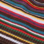 Signature Stripe Beanie Hat - Brown