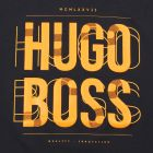 Hugo Boss Green Tee 6 T-shirt in Navy.