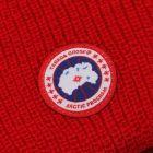 Watch Hat - Red Merino Wool