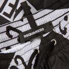 Swim Shorts - Black / White