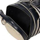 Classic Barrel Bag - Navy/Ecru