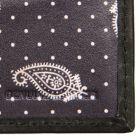 Drakes Detail Billfold Wallet - Black