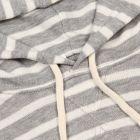 Hoodie - Grey Stripe