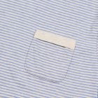 Envelope Pocket T-Shirt - Sky Blue Stripe