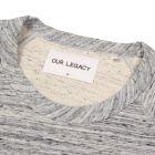 50s Sweater - Blue Grey Melange