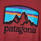 T-Shirt Fitz Roy Horizons - Oxide Red