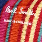 Paul Smith Nautical Stripe Socks in Red