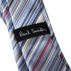 Tie - Sky Blue Multi Striped