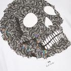 T-Shirt Skull - White