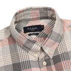 Checked Shirt - Grey