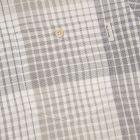 Long Sleeved Check Shirt - Khaki