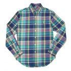 Ralph Lauren Checked Shirt - Turquoise