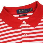 Polo Shirt - Stripe Red