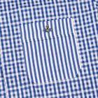 Shirt - Blue Check Pac Man