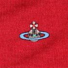 V Neck Jumper - Red