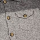 Vivienne Westwood Anglomania Knitted Classic Denim Jacket in Grey