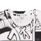 Y3 manga print tee
