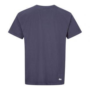 T-Shirt Bubble Logo - Navy
