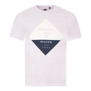 Barbour T-Shirt Diamond Logo | MTS0474PU11 Purple | Aphrodite Clothing