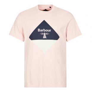 Barbour Beacon T-Shirt Diamond Logo | Antique Candy | Aphrodite